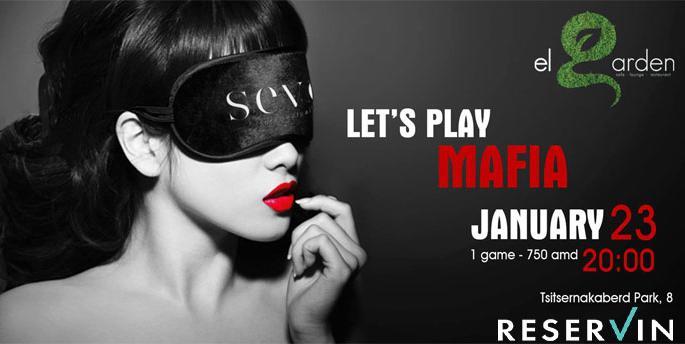 "The party-game ""Mafia"" in El Garden"