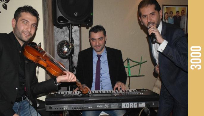 George Sarkissian and Nour Band at Persepolis