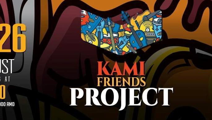 Fun time with Kami Friends Project