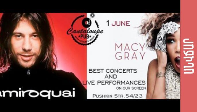 Jamiroquai and Macy Gray. Best performances