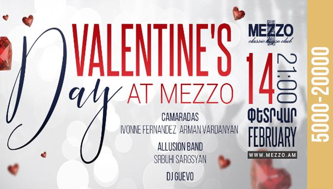 Valentine's Day at Mezzo!