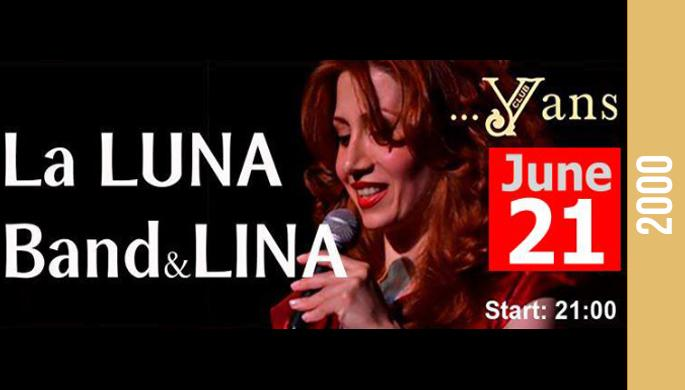 Lina and La Luna band at Yans Club