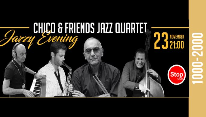 Chico & Friends Jazz Quartet at Stop