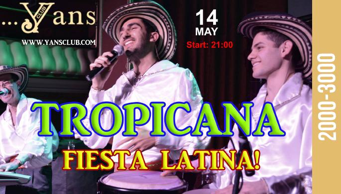 Tropicana Latin Group at Yans Club