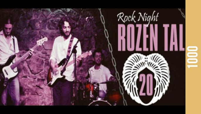 Rock Night with Rozen Tal
