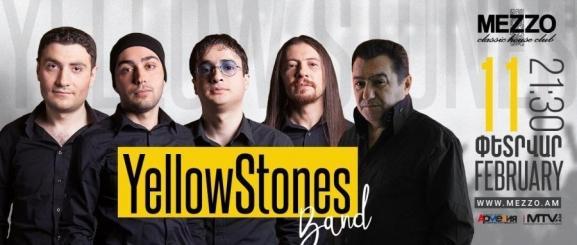 YellowStones band at Mezzo