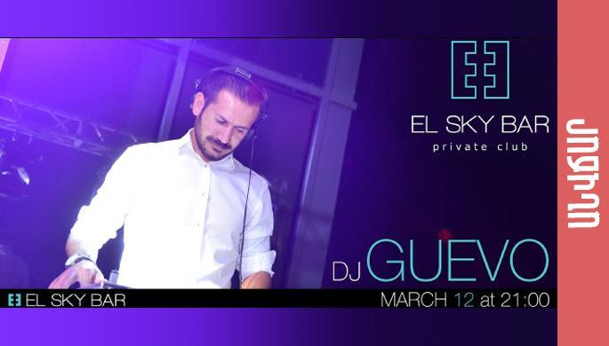 DJ Guevo at EL SKY BAR