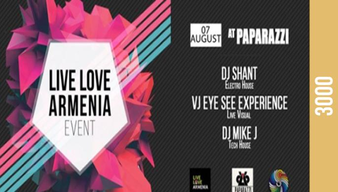 LiveLoveArmenia at Paparazzi