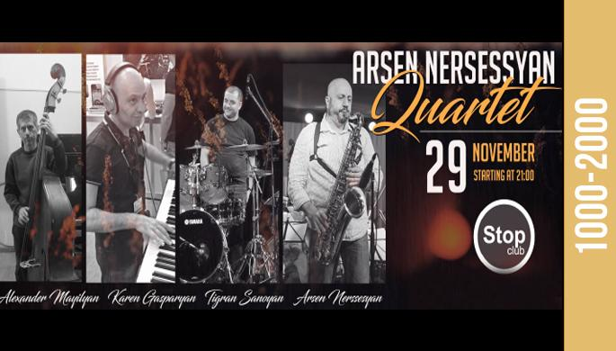Arsen Nersessyan Quartet