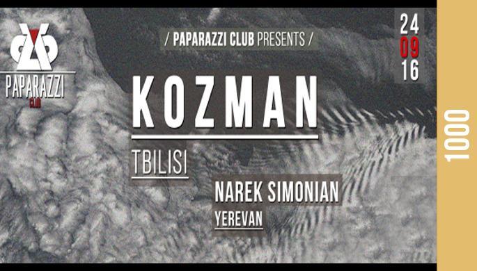 Kozman at Paparazzi Club