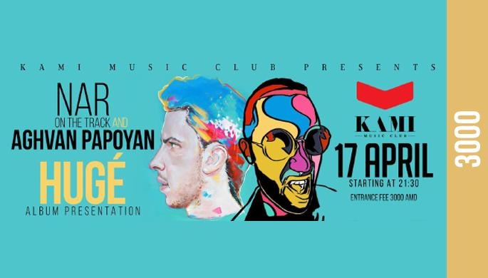 Nar and Aghvan Papoyan: Huge - Album presentation